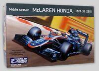 KIT EBBRO 1:20 AUTO DA COSTRUIRE IN PLASTICA MCLAREN HONDA MP4 30 2015   ART 014