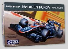 KIT EBBRO 1:20 AUTO DA COSTRUIRE IN PLASTICA MCLAREN HONDA MP4 30 2015   ART 014