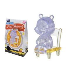Hanayama Crystal Gallery 3D Puzzle Petit Friends Disney Winnie Pooh Clear Japan