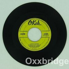 LITTLE JOE AND THE THRILLERS Echoes Keep Calling ORIGINAL 1957 Early Rock OKEH