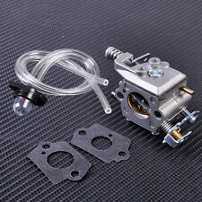 Carburetor+Gasket+Primer Bulb+Fuel Line fit for Chainsaw Poulan Sears Craftsman