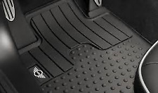 Rubber Mat Set Front Genuine Mini All Weather R60 Countryman 51472181809 RHD