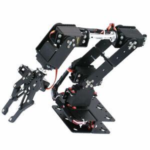1x Mechanischer 6 Dof Roboterarm Manipulatorarm für DIY Roboter und