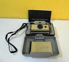 Vintage Polaroid 103 Automatic Land Camera Folding with Booklet