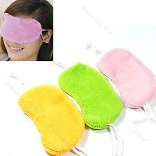 New 1PC Soft Cotton Travel Sleeping Blindfold Shade Eye Mask Cover