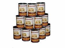 Survival Cave Food Canned Meat - Chicken Food Storage 12 Cans – 14.5 oz each
