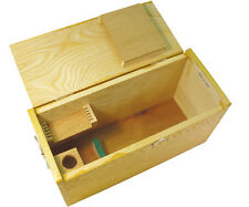 Vintage Wooden Microscope Box for Perfect Microscope.  Box Only!!!!!