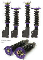 D2 RACING STREET COILOVER SUSPENSION KIT FIAT 500 2007-UP Z1632