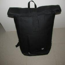 LA-SF Large Roll Top Backpack - Black
