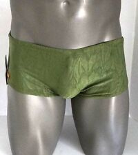 MEN'S SHINY SWIM TRUNK LARGE $54.00