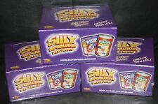 SILLY SUPERMARKET 3 BOX LOT 24 PKS PER BOX  WACKY PACKAGES TRADING CARD STICKERS