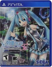 Hatsune Miku: Project DIVA F 2nd [Sony PlayStation Vita P, Idol Sing Rhythm] New
