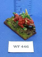 Warhammer Fantasy/40K - Chaos Warhound Painted - Metal WF446
