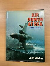 """1987 """"AIR POWER TODAY - 1945 TO TODAY [1987]"""" ILLUSTRATED HARDBACK BOOK"""