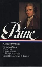 The Library of America: Paine - Collected Writings 1995 HCDJ VG+