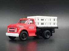 1970 CHEVROLET Chevy C60 Stakebed Camion Coca-Cola Rare 1:64 Voiture Miniature