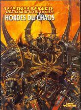 WARHAMMER ARMEES HORDES DU CHAOS 2002