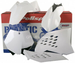 Polisport Plastic Kit White KTM 125 SX 144 150 250 SXF 450 505 90128 64-90128
