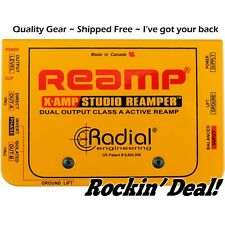 Radial XAmp Active Re-Amplifier Class-A Dual Output X-amp FREE SAME DAY SHIPPING
