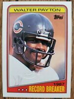 2003 Topps Vintage Buyback 1987 Walter Payton Chicago Bears Football Card SP