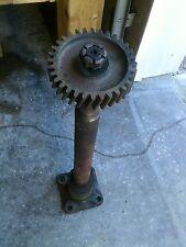 Farmall M SM Tractor IH steering main frontend bolster shaft & whole sector gear