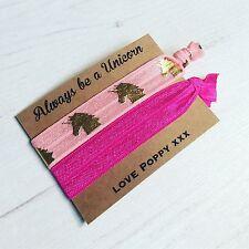 Unicorn Hair Ties Bracelets Party Bag Favours Ideas