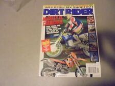 JANUARY 1999 DIRT BIKE MAGAZINE,1999 250MX SHOUTOUT,SUPERCROSS,MCGRATH VS CARMIC