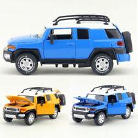1:32 Toyota FJ Cruiser SUV Model Car Diecast Gift Toy Vehicle Sound Light Kids