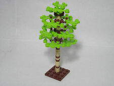 LEGO custom forest birch tree with 15 lime leaves, FREE shipping!
