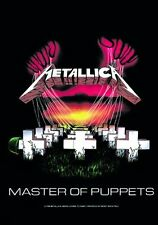 METALLICA - MASTER OF PUPPETS - FABRIC POSTER - 30x40 WALL HANGING - HFL0108