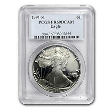 1991-S Proof Silver American Eagle PR-69 PCGS - SKU #28200