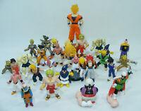 DRAGON BALL Z Gros lot 29 figurines PVC Plastique B.S.T 1989 Sangoku Boo Popo