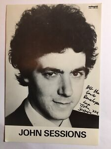 Signed John Sessions 1953-2020 British TV Film Hollywood Actor Comedian 1970s +