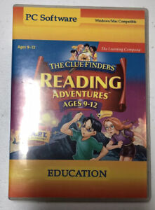 Learning Company THE CLUE FINDERS reading Adventures 9-12 (PC/MAC 1999) - Used
