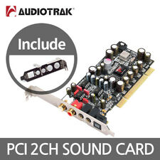 AUDIOTRAK PRODIGY HD2 BLACK EDITION PCI Sound Card 2ch Digital Audio