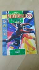 FOOTBALL 89 ALBUM BY PANINI 100% COMPLETE EXCELLENT CONDITION