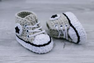 Crochet baby shoes, Handmade baby shoes Crochet baby socks, Unisex baby booties