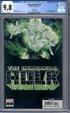 Immortal Hulk #2 Joe Bennett Ruy Jose Doctor Frye 5th Print Marvel CGC 9.8