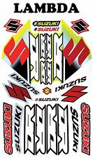 Sticker Kit for Suzuki DR100 DR125 DR200 DR250 DR350 DR400 DR500 DR600 DR650