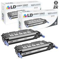 LD Remanufactured Canon 111/1660B001 2PK Black Toner Cartridges