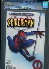 Ultimate Spider-Man #1  (White Variant)  CGC 9.6 WP