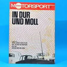 DDR Illustrierter Motorsport IMS 2 1973 Dacia 1300 Trial Fiat 132 Formel 1 W