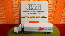 Winross Diecast Metal 1/64 truck (awi) Associated Wholesalers-Shur Fine-1997