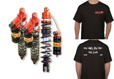 YAMAHA RAPTOR 700 ELKA SUSPENSION LEGACY KIT FRONT & REAR SHOCKS + FREE T-SHIRT