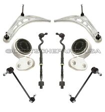 FRONT CONTROL ARMS BALL JOINTS Tie Rods BUSHINGS 8 for BMW E46 3 SERIES M SPORT