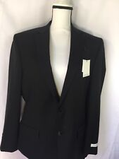 Calvin Klein Men Blazer Jacket Only Slim Fit Black 38 Msrp $525 Nordstorm