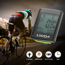 Wireless Bike Computer 2In1 Waterproof LCD Bicycle Cycling Speedometer Odometer
