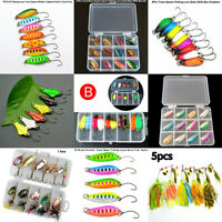 Trout Spoon Metal Angelk?der Spinner K?der Haken Tackle Kit Various Option ER