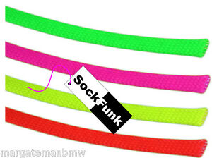Braided Sleeving for Cables Wires Tidy Many Colours 15mm