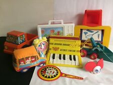 Vintage Toddler Toys Lot Of 9 Playskool Emenee Tupperware Toys Mix